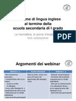SLIDE LesameDiLinguaInglese Webinar 1 e 2