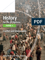 History for the IB Diploma Paper 1 - Conflict and Intervention