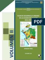 Pdu - Volumen II Huacho