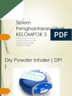 Dry Powder Inhaler ( DPI)