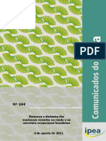 Conjuntura IPEA Agosto 2011