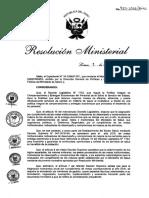 RM N927-2016 MINSA Evaluacion Mejora