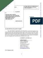 Windsor Green Fire Lawsuit - Hatzidakis