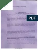 Amparo de Vecinos calle Catamarca conta AMT y Municipalidad de Salta
