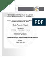 Valores comerciales de diodos de potencia,  aplicaciones y decisión de TRIAC