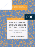 Translation Strategies in Global News