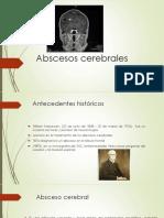 Abscesos cerebrales neuropatología