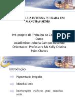 Apresentação Pré Projeto Izabella Campos Resende