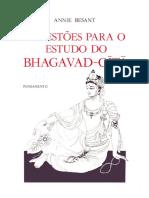 Annie Besant - Sugestões para o estudo do Bhagavad-Gítã.pdf