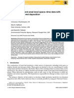 (2010) Fusing point and areal level space-time data with application to wet deposition. Journal of the Royal Statistical S.pdf