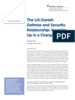 The US-Danish Defense and Security Relationship