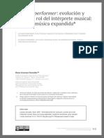 Extended performer
