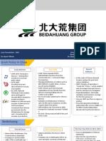 Beidahuang Case Study Presentation
