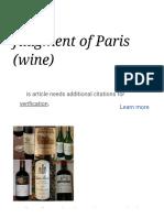 Judgment of Paris (Wine) - Wikipedia