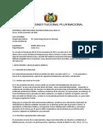 SCP 0111-2014-s2 Marco Antonio Cardozo Jemio - Derecho a La No Suspencion de Audiencia Si Esta Presente Solo El Interesado