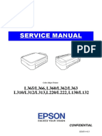 Epson l365 Service Manual