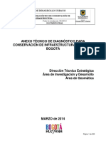 Anexo de Conservación de Infraestructura Vial 2012-2016