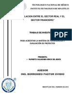 RELACION ENTRE EL SECTOR REAL Y EL SECTOR FINANCIERO.docx