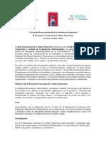 Convocatoria resúmenes ponencia II ENCF
