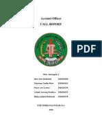 Makalah Account Officer Tentang Call Report