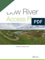 Bow River Access Plan