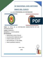 tema 1 EL PAPEL DE LA CONTABILIDAD ADMINISTRATIVA EN LASORGANIZACIONES - GERNCIA 1.docx