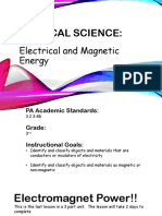 physical science unit suppliment