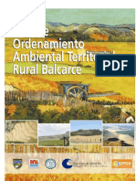 Plan de Ordenamiento Territorial Rural Balcarce