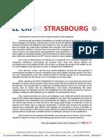 Le Cri de Strasbourg