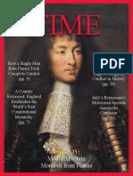 time cover 1 louis xiv