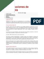 Constituciones de Colombia
