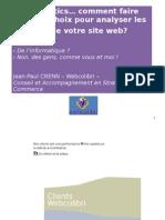 Web Analytics Et Indicateurs Clefs E-Commerce