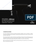 Studex Universal System Manual 2016