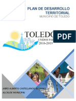 Plan de Desarrollo Municipal Toledo