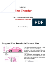 Convection Heat Transfer - External Forced Convection (2)