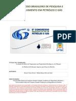 Avaliação Do Efeito Da Temperatura Nas Propriedades Reologicas e de Filtração de Fluidos de Perfuração Aquosos Para Poços de Petroleo