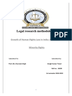 Growth of Human Rights Law in India