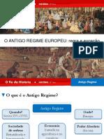 O Antigo Regime Europeu Regra e Exceção