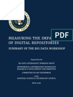 Measuring the Impact of Digital Repositories