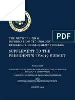 NITRD Supplement to the President's FY2019 Budget