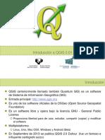 Introducción a QGIS