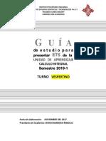 Guía ETS Calculo Integral T.v 2019-1