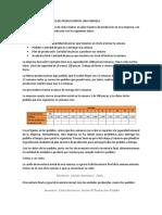 Ejemplo de Plan Maestro de Producción de Una Empresa