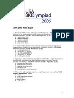 2006 Semifinal PartAandB Answers