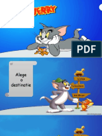 Tom jerry - joc didactic in Powerpoint