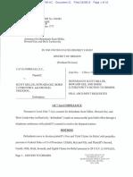 Catalinbread LLC vs Gee Motion to Dismiss