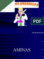 # AMINAS =FENÓIS - ALCOOIS E ÉTERES-- - 20-12-2018
