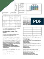 Genetics Worksheet Day 1