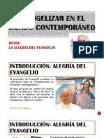 Evangelizar en El Mundo Contemporaneo