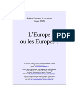 +++EUROPE  OU  EUROPES.doc